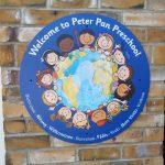 Peter Pan Pre-school plaque